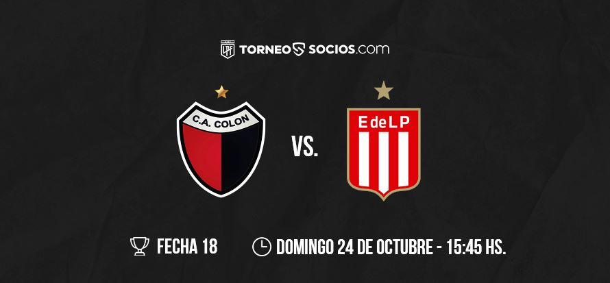 Colon vs Estudiantes LP