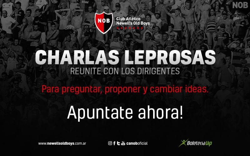 Charlas Leprosas
