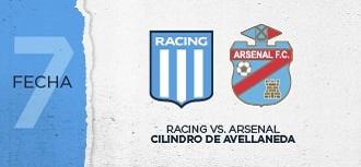 Racing vs Arsenal