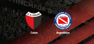 Colon vs Argentinos Jrs