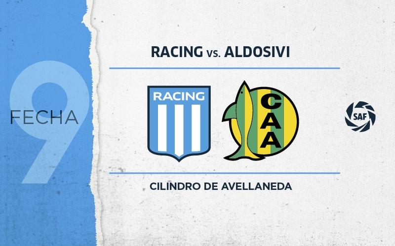 Racing vs Aldosivi