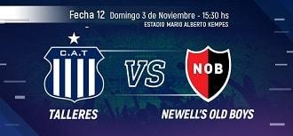 Talleres vs Newells