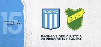 Racing vs Defensa y Justicia