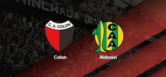 Colon vs Aldosivi