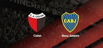 Colon vs Boca