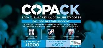 PACK LIBERTADORES 2020
