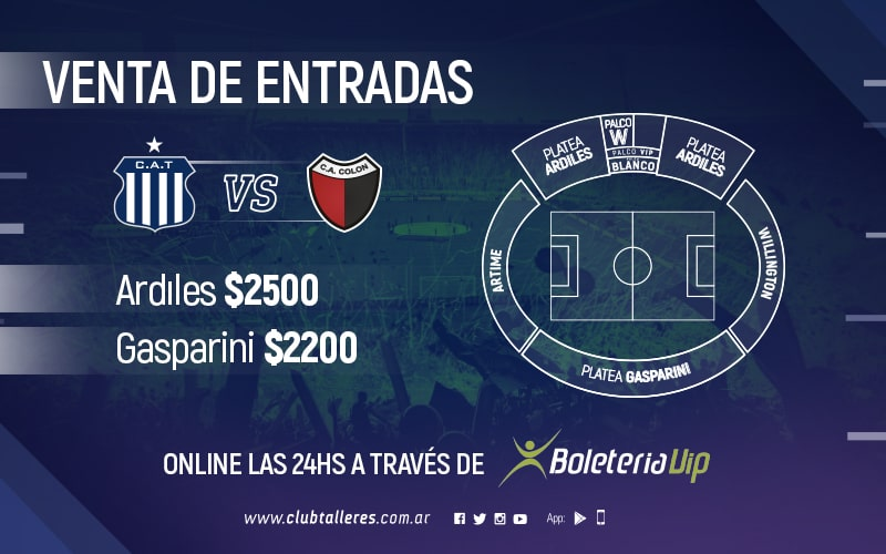 Talleres vs Colon
